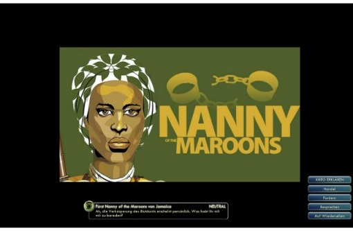 NANNY REINE DES MAROONS JAMAIKKAINS